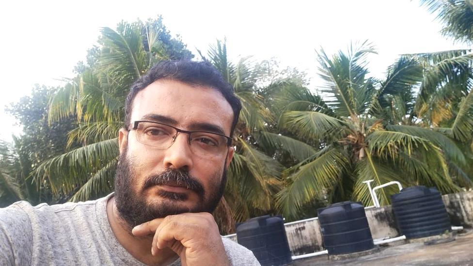 Rathiš Sukumaran živi u južnoj indijskoj državi Kerala