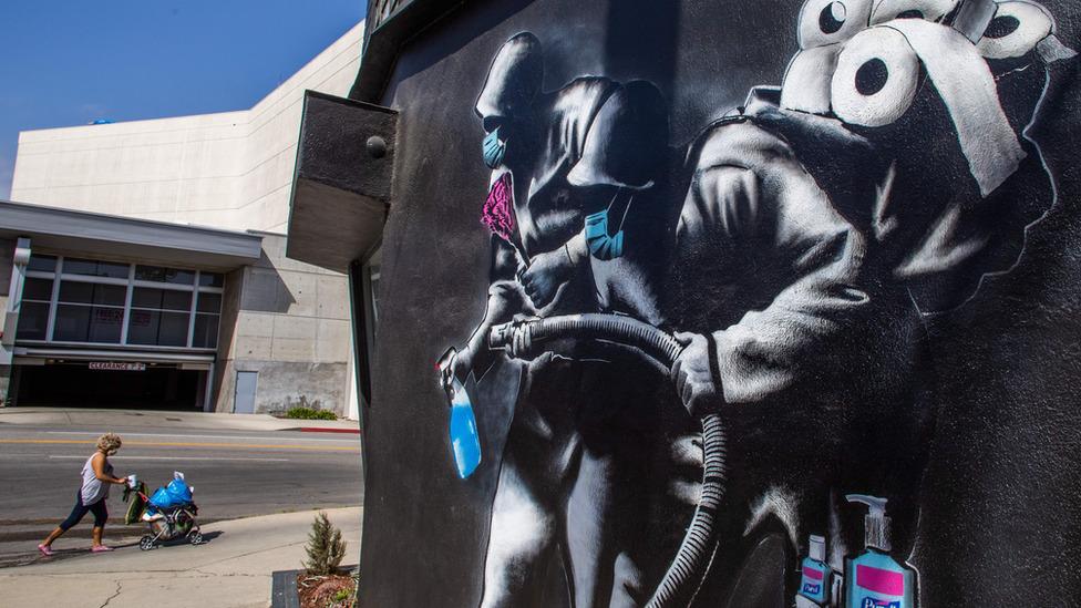 Mural u Kaliforniji