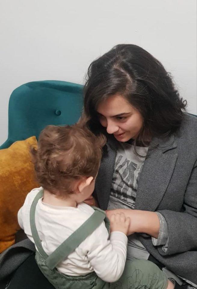 Ana Tadić s Nikolom Džanom