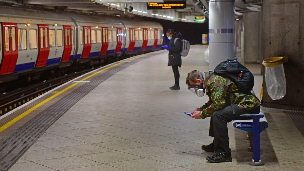 Westminster metro BBC Elvis