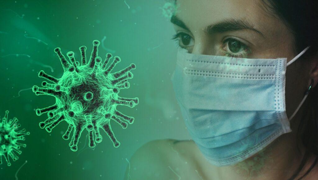 maska corona virus