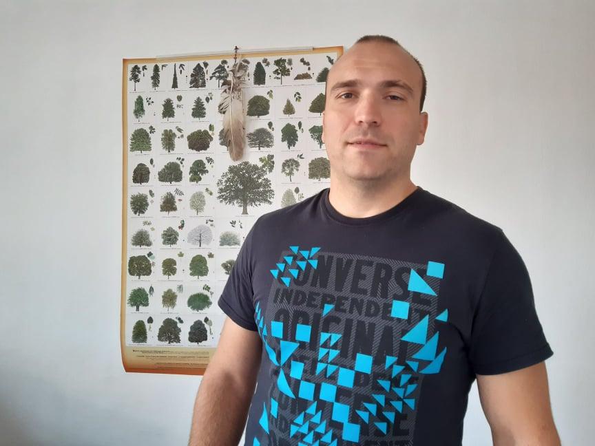Stefan Vukić član Ekološkog Društva Prijatelji Čačalice