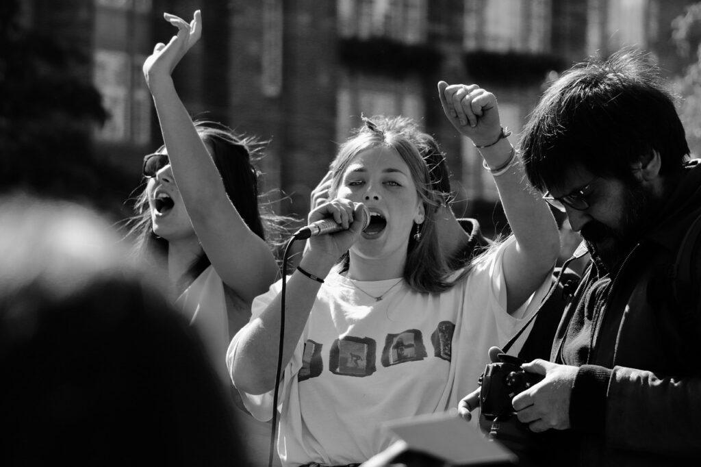 studenti protest