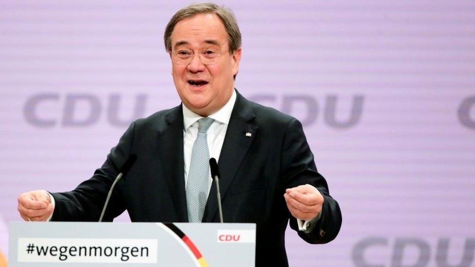 Armin Laschet at CDU conference