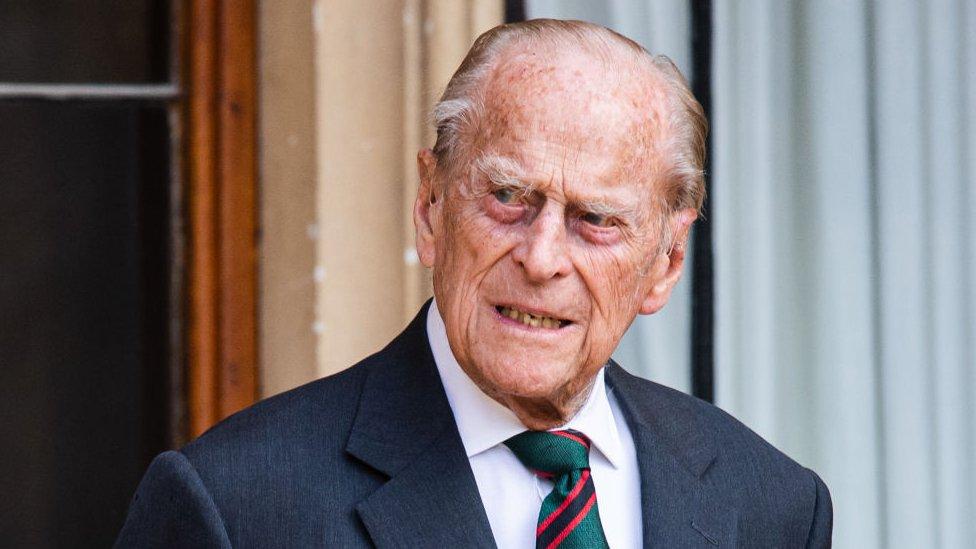Duke of Edinburgh in summer 2020