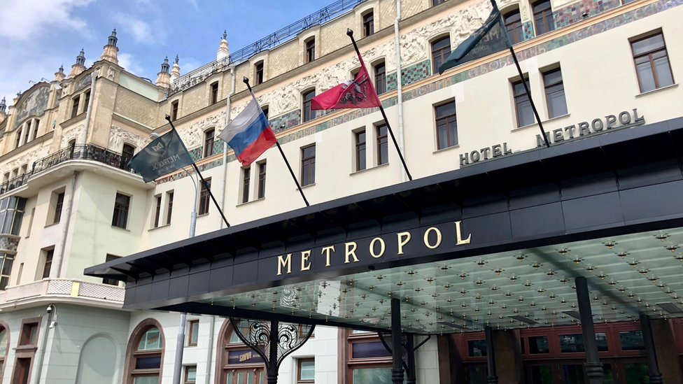 The Metropol hotel in Moscow