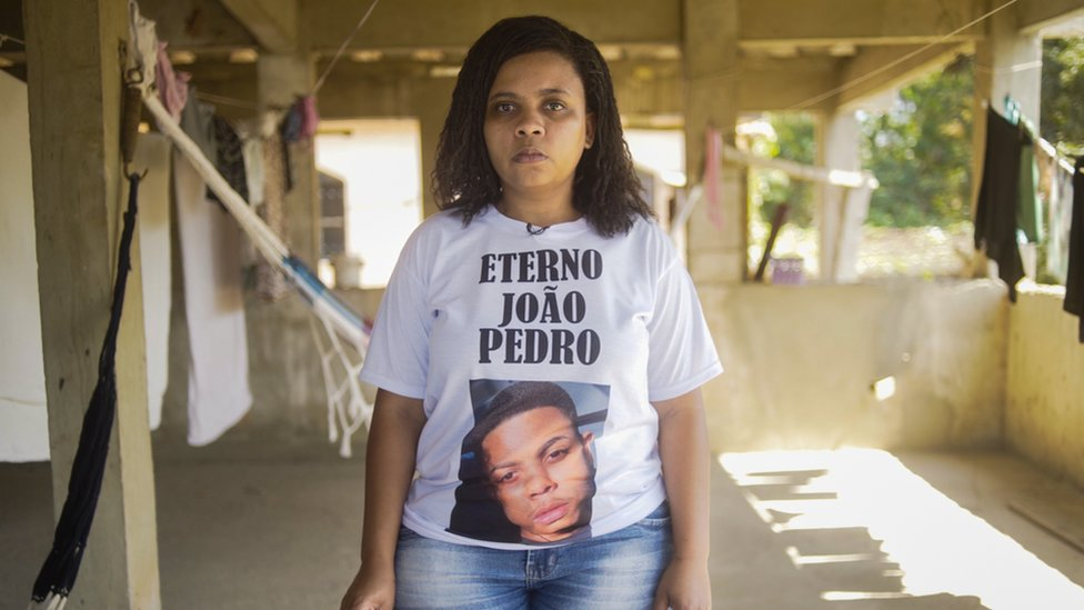 Mother and teacher, Rafaela Coutinho Matos' son João Pedro was killed by police at 14 years old
