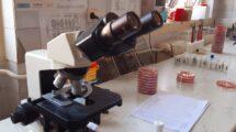 mikroskop covid test