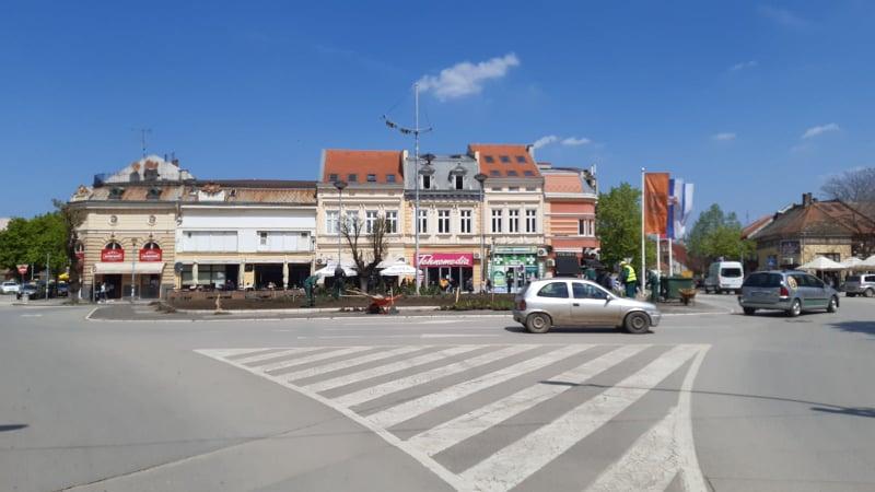 centar grada kružni tok