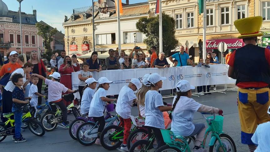 trka biciklista najmlađi