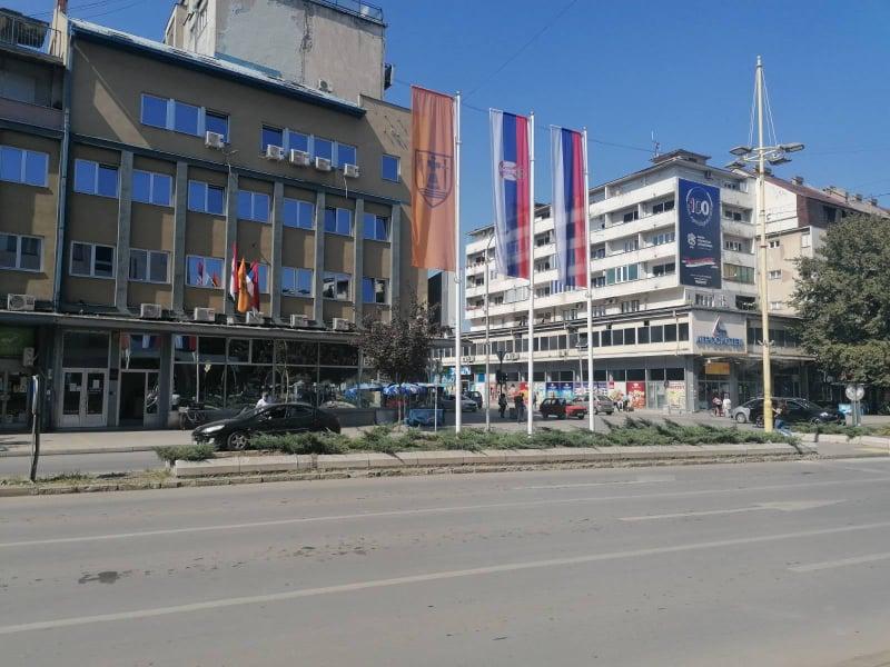 zastave u centru